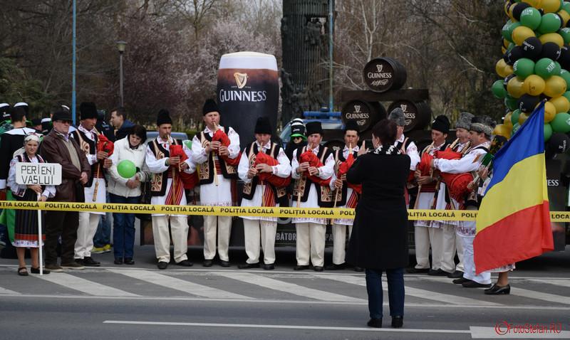 Perieni Vaslui parada sfantul patrick bucuresti martie 2016