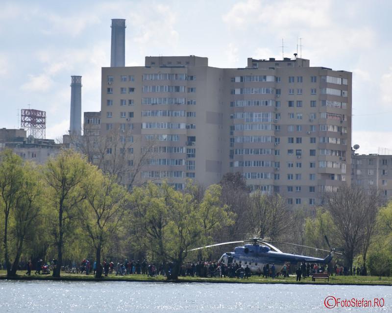 poza elicopter  MI -17 parc tian bucuresti