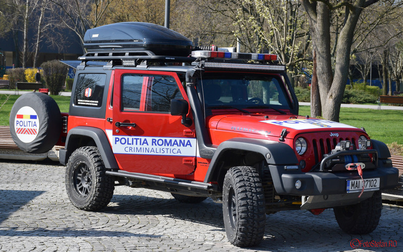 foto jeep politia criminalistica