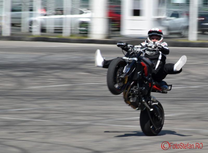poze moto stunt Angyal Zoltan la SAB 2016