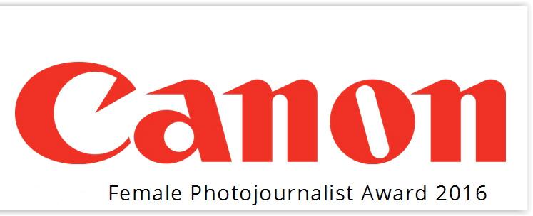 Canon Female Photojournalist Award 2016