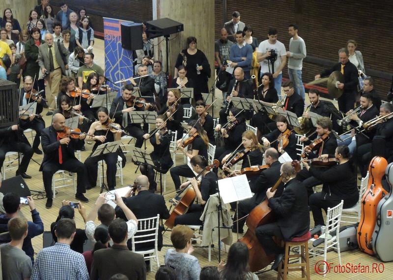 poze Avanpremiera Festivalului de Muzică Clasică la Metrou
