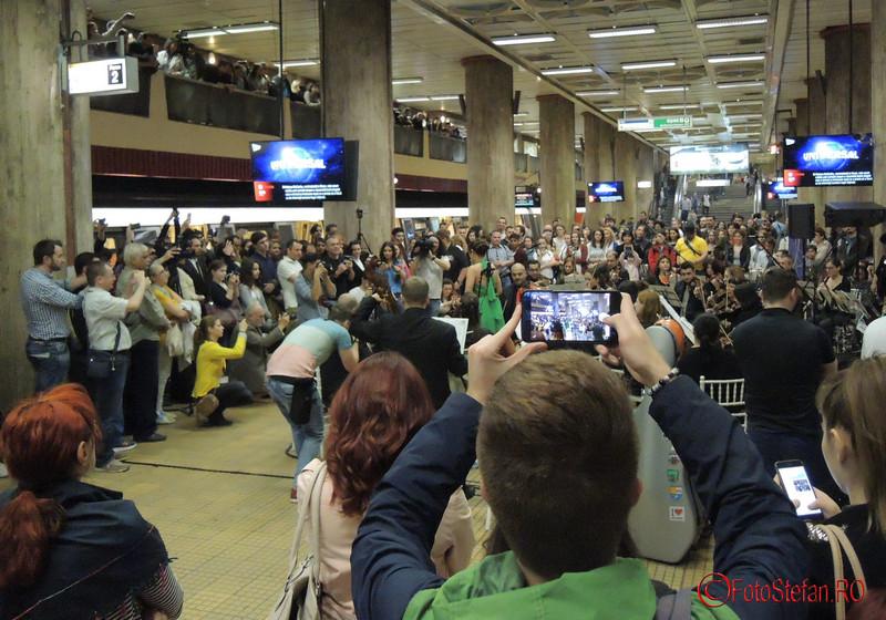 poze festivalul de muzica clasica la metrou unirii 1 bucuresti