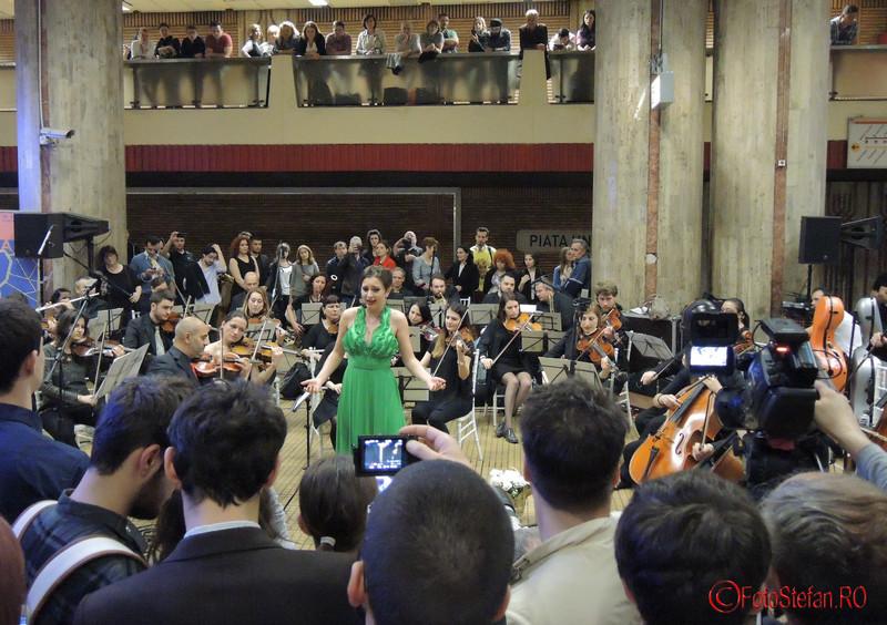 poza Diana Gheorghe festival de muzica clasica la metrou