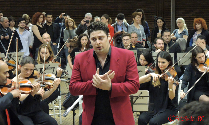 foto Alin Stoica festivalul de muzica clasica la metrou