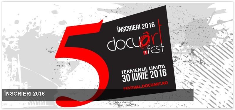 afis Docuart Fest - festivalul documentarului romanesc