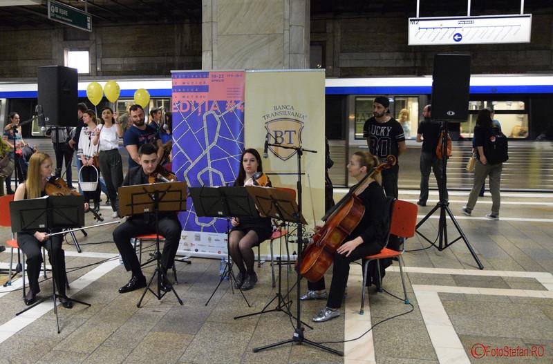 poza festival de muzica clasica metrou unirii bucuresti 2016