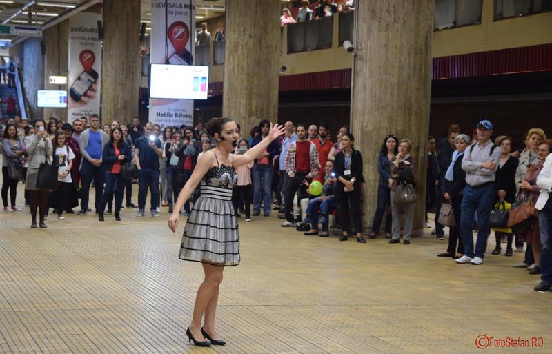 poza solista muzica clasica metrou bucuresti