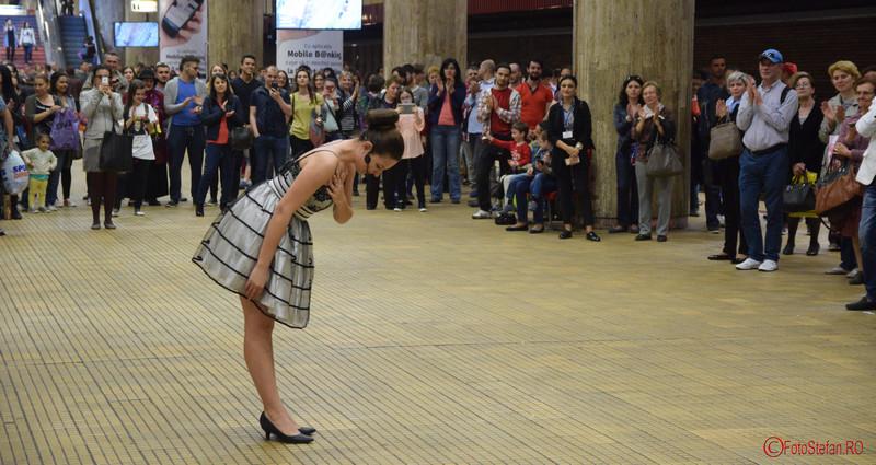 poza Festivalul de Muzica Clasica la Metroul din Bucuresti Diana Gheorghe