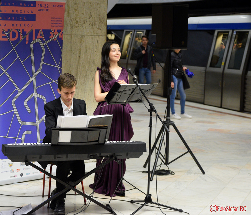 poza foto Soprana Daniela Bucsan pianistul Valentin Malanetchi