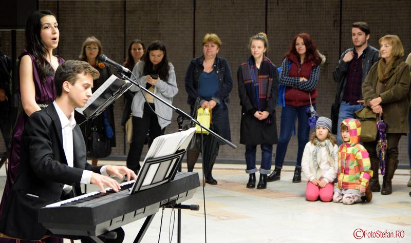 poze copii concert muzica clasica bucuresti metrou