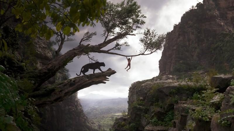 poster afis film cartea junglei 2016 Bagheera, Mowgli