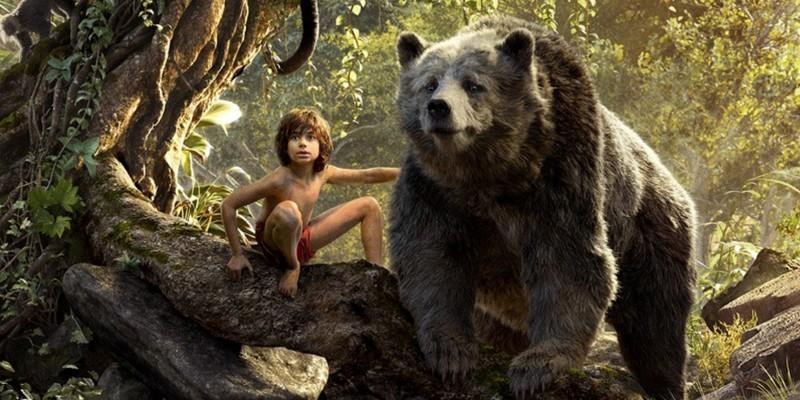 poster afis film cartea junglei 2016 Mowgli, Baloo