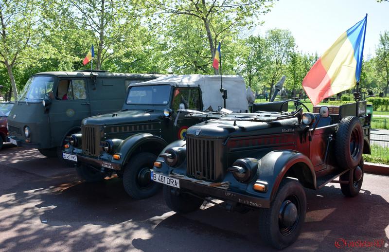 poza aro m461 steagul romaniei Parada Automobilelor de Epoca