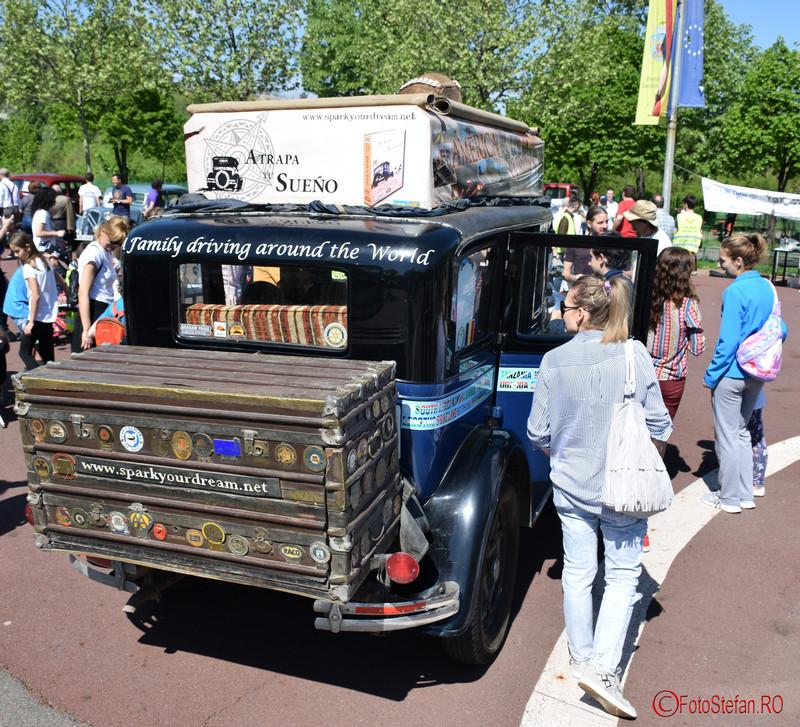 poza masina Graham Paige parcul lumea copiilor bucuresti