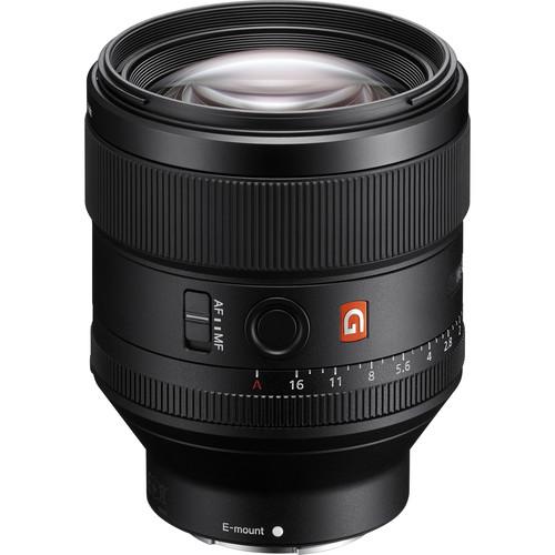 poza obiectivSony FE 85mm f/1.4 GM - montura Sony E (compatibil FF)