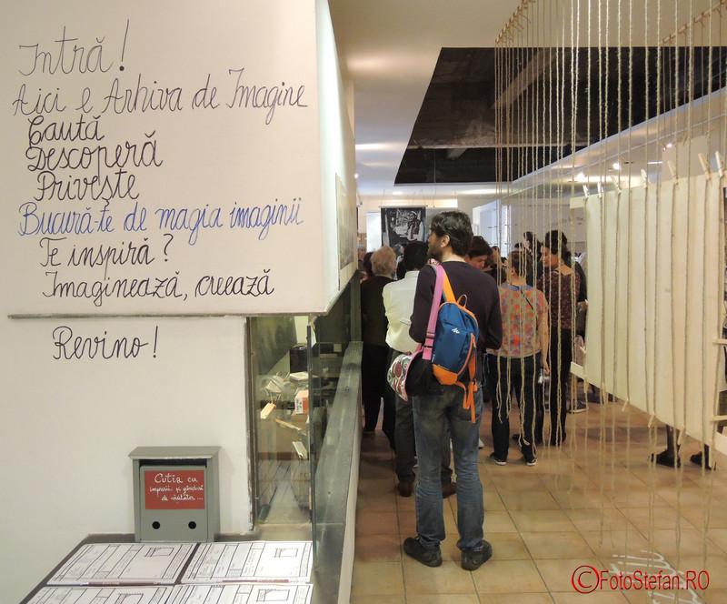 poza intrare proiectul IMAGINEA-MARTOR ateliere de arhivare performativă Muzeul Taranului Roman MTR Bucuresti
