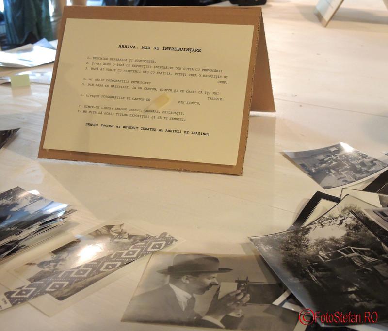 explicatii proiectul IMAGINEA-MARTOR ateliere de arhivare performativă Muzeul Taranului Roman MTR Bucuresti