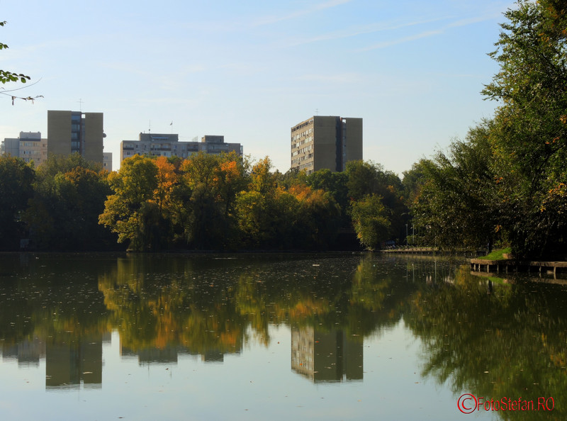 poze toamna parcul National Bucuresti sector 2