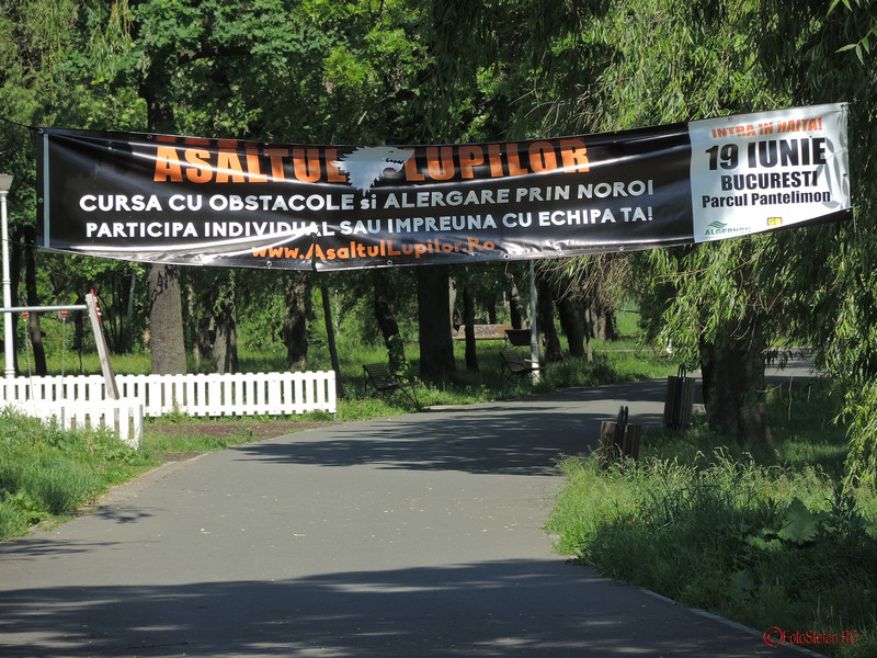 poza banner asaltul lupilor parcul pantelimon bucuresti
