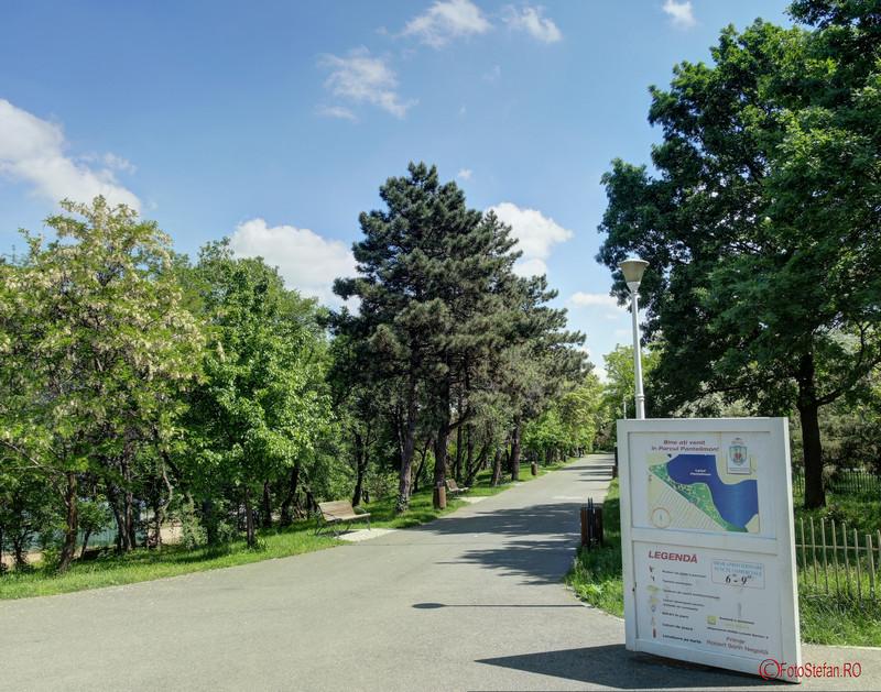 poza intrare parcul pantelimon bucuresti
