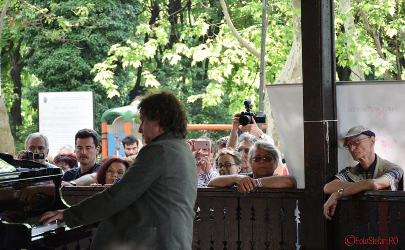 poza pianistul hotia mihail parcul cismigiu bucuresti