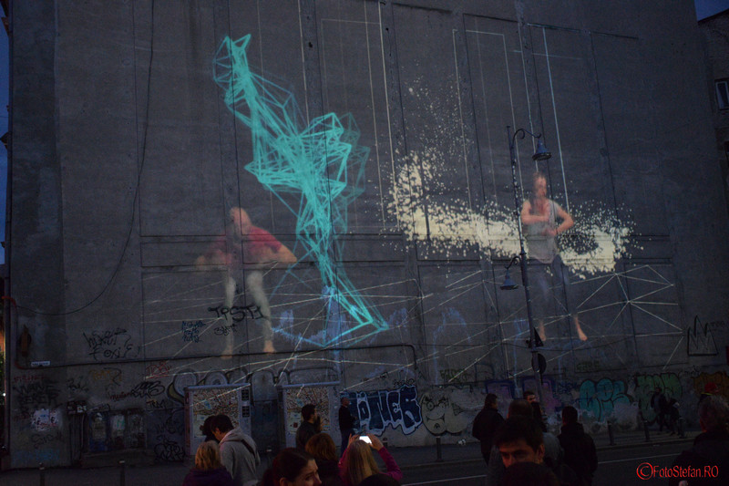 poza Embodymento festivalul luminii bucuresti