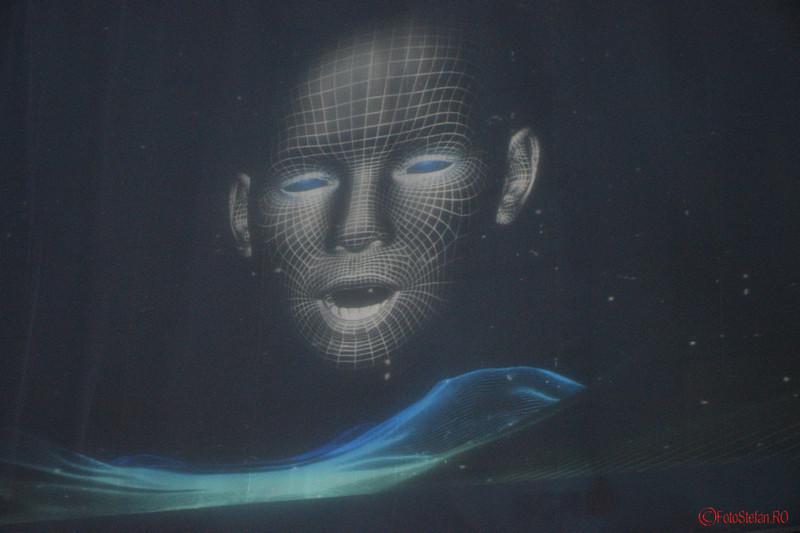 poza proiectie HoloFace festivalul luminii