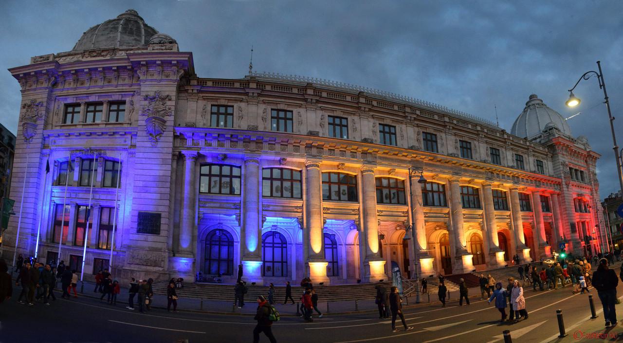 poza panoramica muzeul de istorie bucuresti spotlight