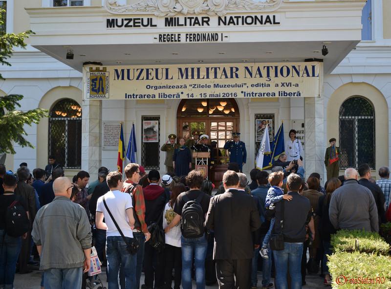 """poze Zilele Muzeului Militar National """"Regele Ferdinand I"""" Bucuresti, 14 mai 2016"""