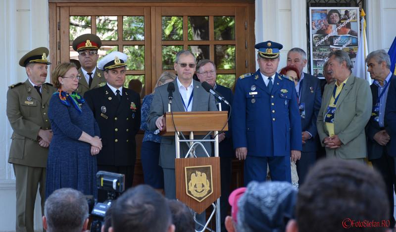poza Dumitru Prunariu Muzeul Militar Bucuresti 2016