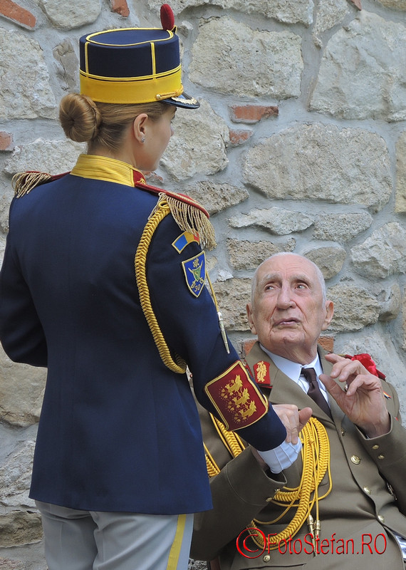 foto veteranul de război general (ret.) Daniel Pană