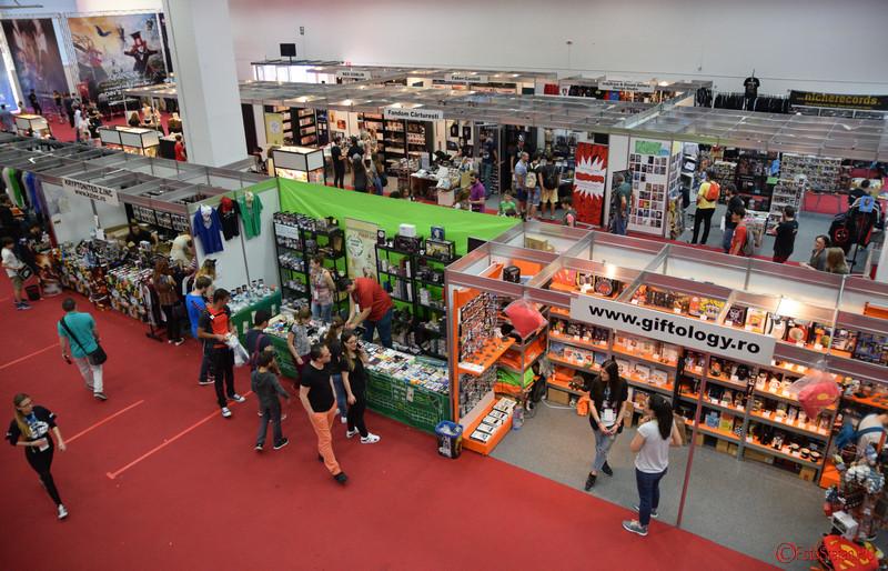 poza pavilion romexpo East European Comic Con (EECC) Bucuresti