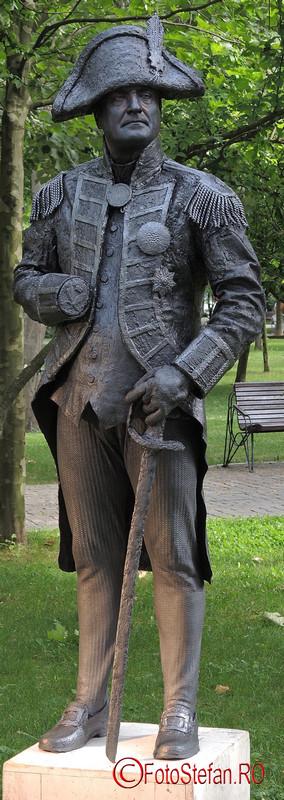 poza admiral nelson Festivalul International de Statui Vivante #fisv2016 Bucuresti parcul Titan