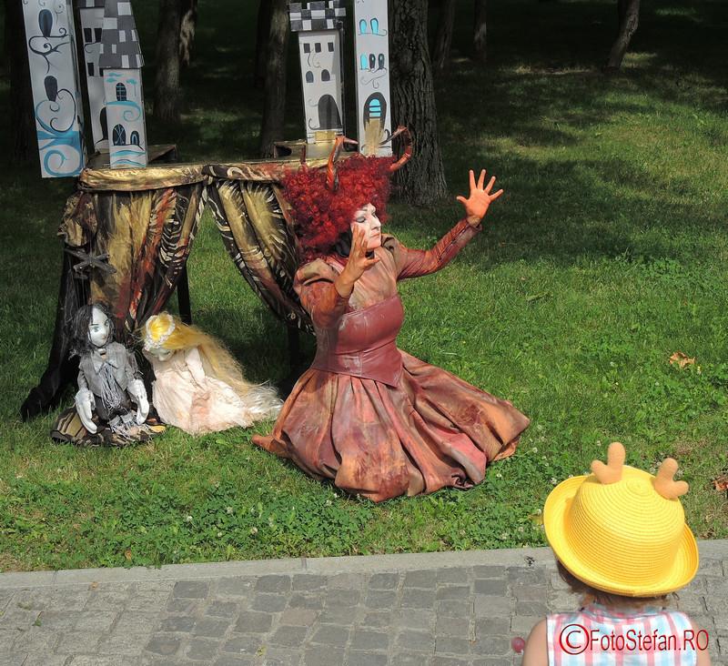 Rapunzel Festivalul International de Statui Vivante #fisv2016 Bucuresti parcul Titan
