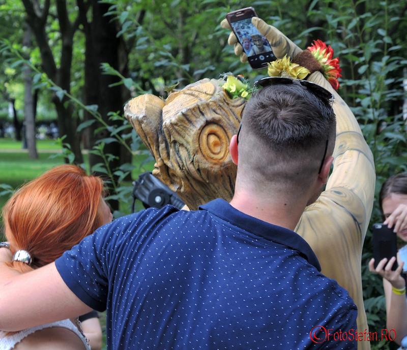 poze Festivalul International de Statui Vivante #fisv2016 Bucuresti parcul Titan