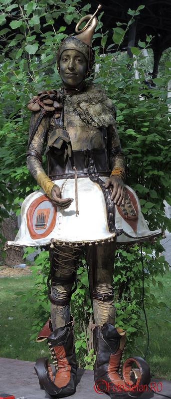 poza sincopa Festivalul International de Statui Vivante #fisv2016 Bucuresti parcul Titan