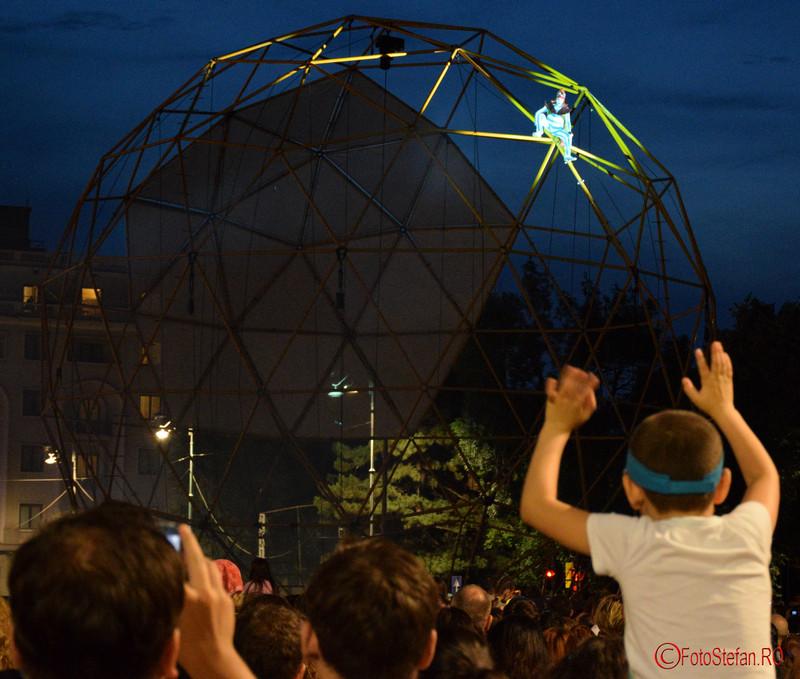 poza Spectacolul Globe la Festivalul International de Teatru de Strada Bucuresti