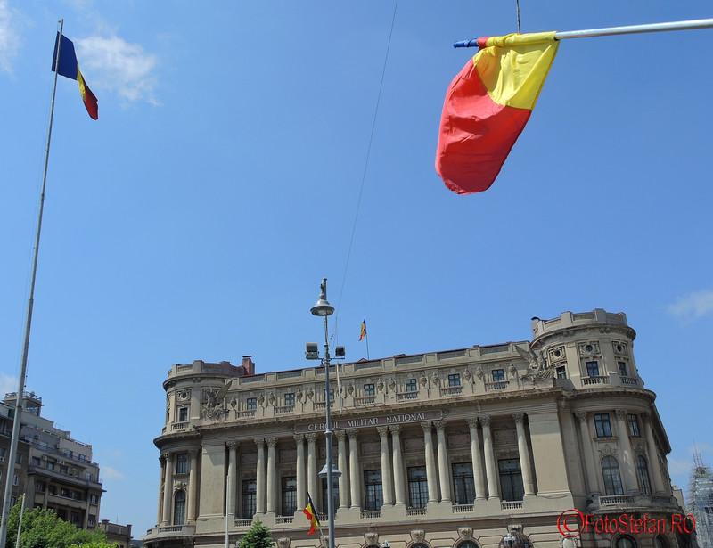 poze steaguri tricolore romanesti cercul militar bucuresti