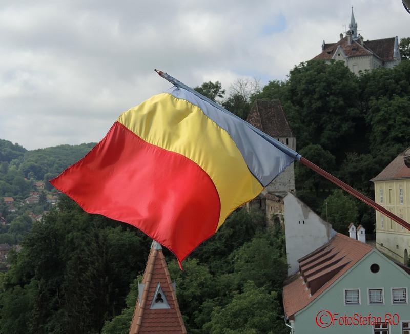 poze staeg tricolor cetatea sighisoara