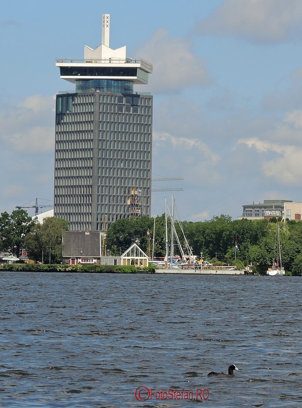 poza A'DAM toren amsterdam