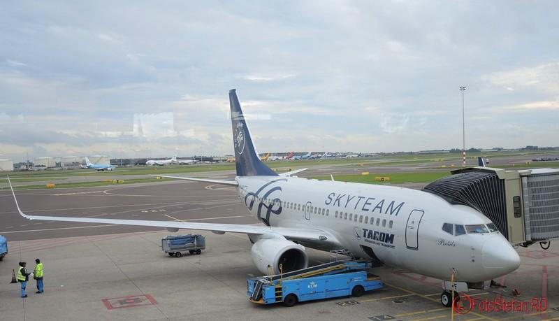 poza avion Boeing 737-700 (Winglets) tarom