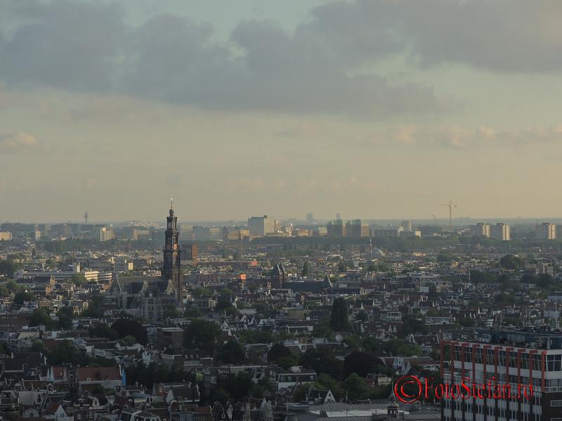 poza amsterdam cladire turn inalta A'DAM