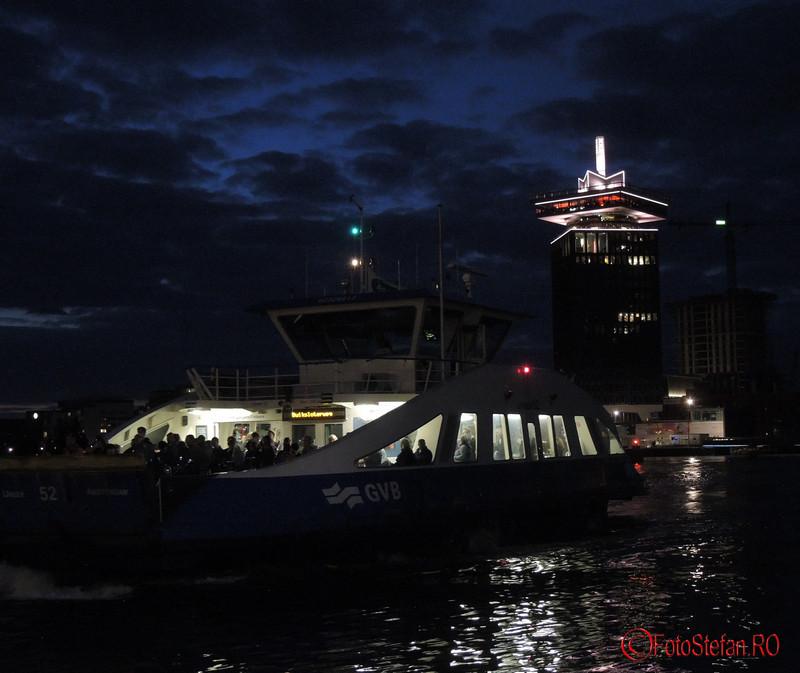 poza noaptea amsterdam feribot A'DAM