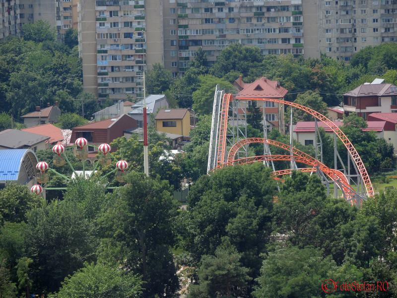 poza roller coaster parc distractii tei bucuresti