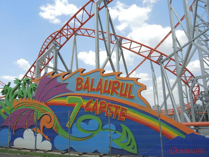 poza roller coaster parc distractii tei plumbuita bucuresti