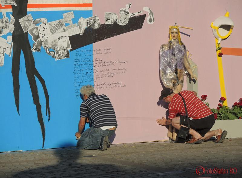 poza muncitori expozitie kulturama dadaism bucuresti
