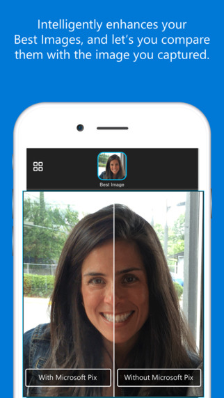 app Microsoft Pix iOS iphone