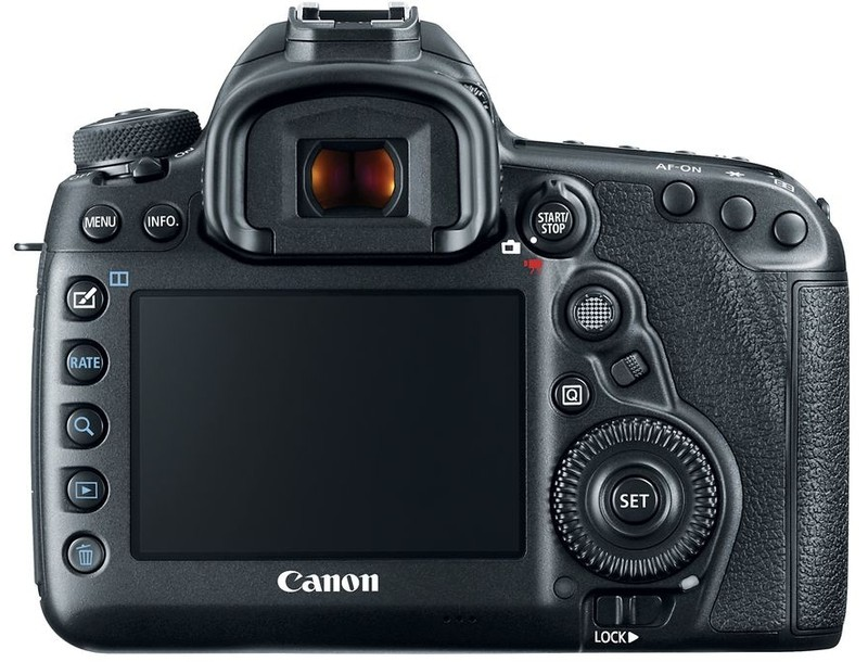 poza lcd aparat foto canon 5D Mark IV