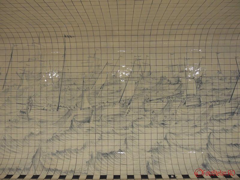poza graffiti Irma Boom Cuyperspassage Amsterdam